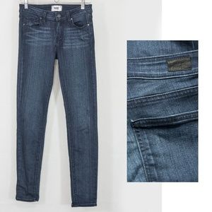Paige Verdugo Ultra Skinny Jeans Dark Wash Valor